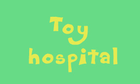 Toy Hospital Button
