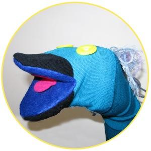 Custom puppets sock puppet