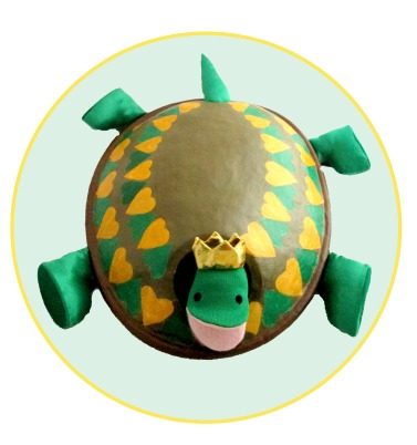 turtle in a circle