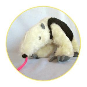 Custom soft toy tamandua