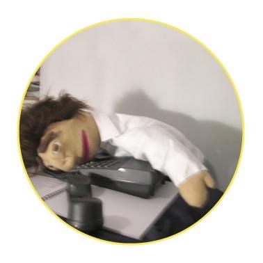 Paul Puppet - Secretary