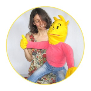puppet mechanisms yellow puppet with movable hand