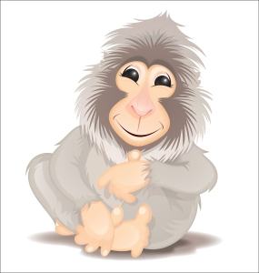 ape_sitting