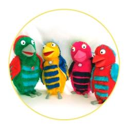 parrots-on-a-circle