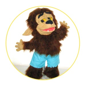 Custom puppet wolf