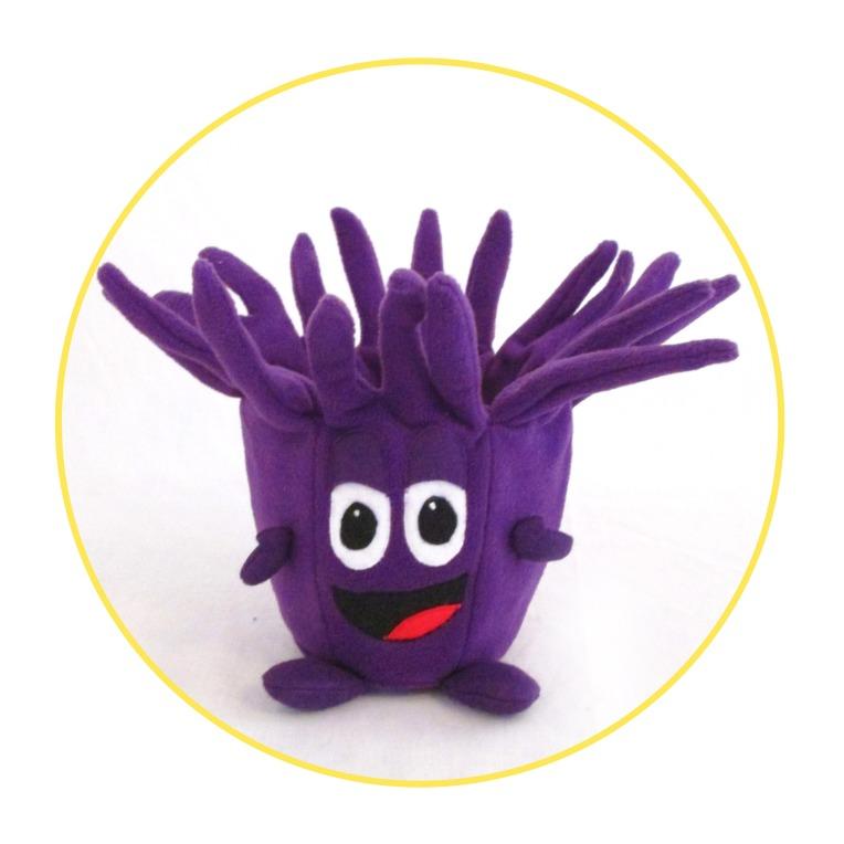 Bin purple